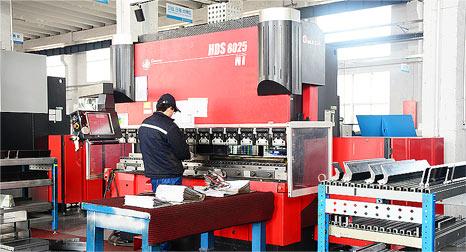 日本AMADA HDS8025 高速、高精度折り曲げ加工機